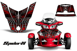 Can-am Brp Spyder Rt Hood Creatorx Graphics Kit Spiderx Red