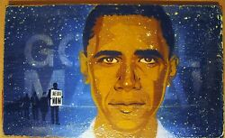 President Barack Obama Go Tell Mama We Are Now Noland Stencil Poster Print Hope