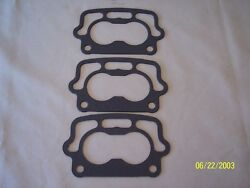 3 Rochester Small Base Carbs 2gc Gaskets Original Type Used From 55 To 65 Chevy