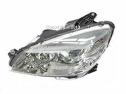 Mercedes W204 07-10 Headlight + Hardware Halogen Lt Left Lh Driver
