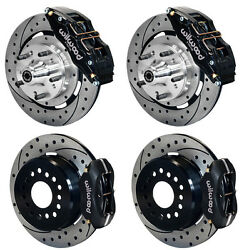 WILWOOD DISC BRAKE KIT,65-68 IMPALA,12