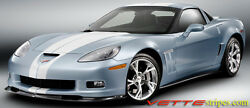 Gm 22783855 C6 Corvette Z06/gs Coupe Full Length Racing Stripes Over 300 Colors