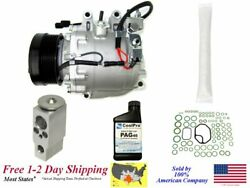 New Ac A/c Compressor Kit For 2006 2007 Civic 1.8l 2-door Coupeand039s Only