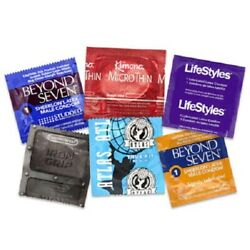 Small Snugger Fit Tight Bulk Condoms + Free Lube Samples - Pick Size And Quantity