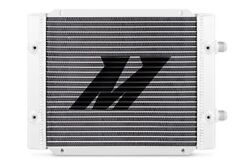 Mishimoto Oil Cooler Universal Silver 25-rows Dual Pass Mmoc-25dp