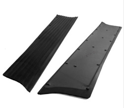Chevrolet Chevy Car Running Board Mat / Cover Set Moulded Rubber 1937-1938