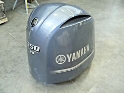 Used Yamaha Outboard 350 Hp Four Stroke Cowling 6aw-42610-20-00