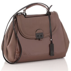 100 Authentic, Pauric Sweeney Madame Patent Satchel, Tag 1400