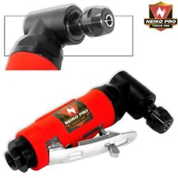 Neiko Pro 1/4 Mini Right Angle Head Air Die Grinder Rear Exhaust Cut Off Tool