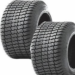 2 18x7.00-8 18/7.00-8 Riding Lawn Mower Garden Tractor Turf Tires P332 4ply