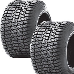 2 18x10.50-10 18/10.50-10 Riding Lawn Mower Garden Tractor Turf Tires P332 4ply