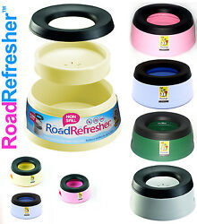 Prestige Plastic Road Refresher Pet Travel Bowls two sizes4 different colours