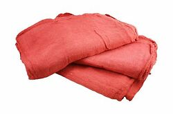 10000 Pcs Red Cotton Shop Towels Ragsfirst Grade New Wipers