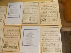 Collection Of 21 1950s And 60s French Line Ocean Liner Steamship Menus Vintage
