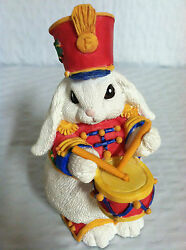The Patchville Bunnies, Little Drummer Boy, New, Nice Easter Decoration Or Gift