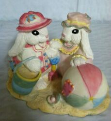 The Patchville Bunnies, Beach Babies, New, Nice Easter Decoration Or Gift