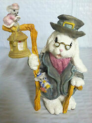 The Patchville Bunnies, Cedric, New, Nice Easter Decoration Or Gift