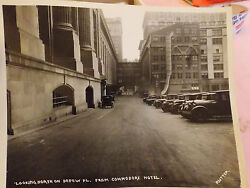 Orig 1923 Rutter Photo Grand Central Station Hotel Commodore New York City Photo