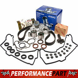 Timing Belt Tensioner Kit Valve Cover Water Pump W/o Pipe 96-04 Toyota 3.4 5vzfe