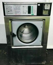 Wascomat Front Load Washer Coin Op, 3ph 208-240v, Model W125es [refurb]