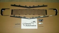 Grill Rs Kit 89pc W/moldings/hardware/bezels/ss396 Emblem Camaro In Stock