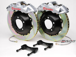Brembo Front GT BBK Brake 6piston Silver 355x32 Slot Rotor for G35 350Z Fairlady