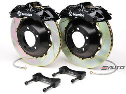 Brembo Front GT BBK Brake 6piston Black 355x32 Slot Rotor for G35 350Z Fairlady