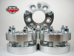 5pc Wheel Spacers Adapters 5x4.5 To 5x5 1.25 | Adapts Jeep Jk Wheels On Tj And Yj