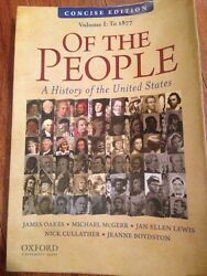 Of The People A History Of The United States