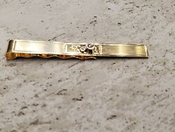 14k Yellow Gold Tie Bar, Lovely Vintage Piece, 2.60 Length - Weight 6.9 Grams