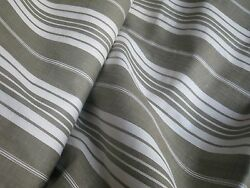 Antique French Ticking Fabric- Classic Brown Stripes- Unused- 2yards