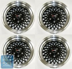 1982-87 Buick Grand National / Gnx Factory Style Black Wheel Set - Zero Offset