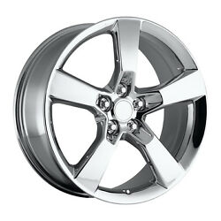 4 20 20x9 Ss Style Chrome Fits All 2010 - Current Camaro Wheels Rims Set
