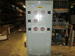 Amp Fmu Panel Board Multi-tenant Commercial Metering Section F-mu/pt Used