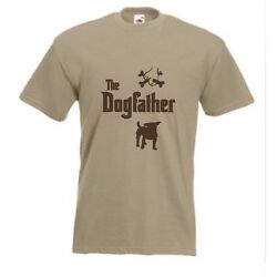 The Dogfather Jack Russelt shirt Funny Terrier Dog T shirt sizes S TO XXXL