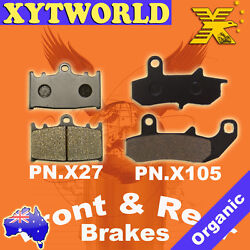 Front Rear Brake Pads For Suzuki Rg 125 Fn/fp/fr Nf13 A B 1992-1996