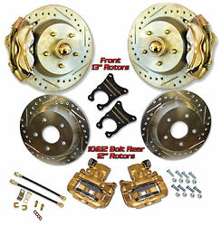 1947-59 Chevy Truck 13 Rotor Disc Brake Complete Front And Rear Brake System