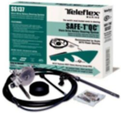 New Boat Steering System Complete 20and039 Q/c Teleflex Safe-t Tel Ss13720