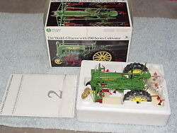 Ertl 1/16 John Deere Model A Precision 2 Tractor With 290 Series Cultivator
