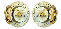 1947-54 Chevy Car 13 Disc Brake Complete Front Brake Systems