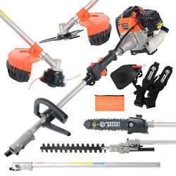 52cc Multi Function 5 In 1 Garden Tool - Brush Cutter Grass Trimmer Chainsaw
