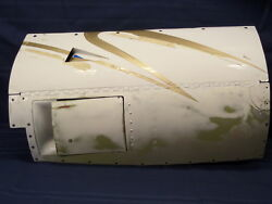 Nice Twin Cessna 414 Ram Iv Aircraft Lower Cowl W/ Access Door Cowl Flap And Rod