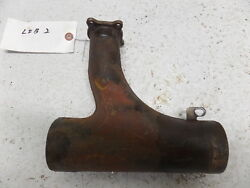 Twin Cessna 310 Q Left Side Inboard Center Exhaust Stack
