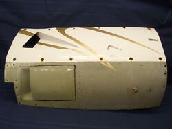 Very Nice Twin Cessna 414/402 Aircraft Lt Inboard Lower And Side Cowl W/flap