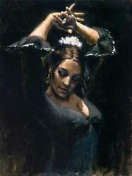 Duende By Fabian Perez. Sold Out Ap 23/35 Embellished Giclee On Canvas Mint