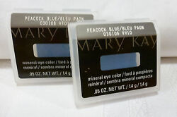 Lot of 2 MARY KAY~Peacock Blue~MARY KAY MINERAL EYE COLOR SHADOW No Sales Tax!!