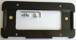 10 Rear License Plate Brackets For Bmw + 6 Unique Screws And Wrench New