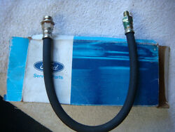 Nos 67 - 68 Shelby Mustang Cougar Front Drum Brake Hose 16 Length