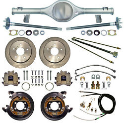 Currie 66-77 Bronco Rear End And Disc Brakeslinesparking Brake Cablesaxlesetc
