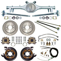 Currie 64-66 Gm A-body Rear End And Disc Brakeslinesparking Brake Cablesaxles+